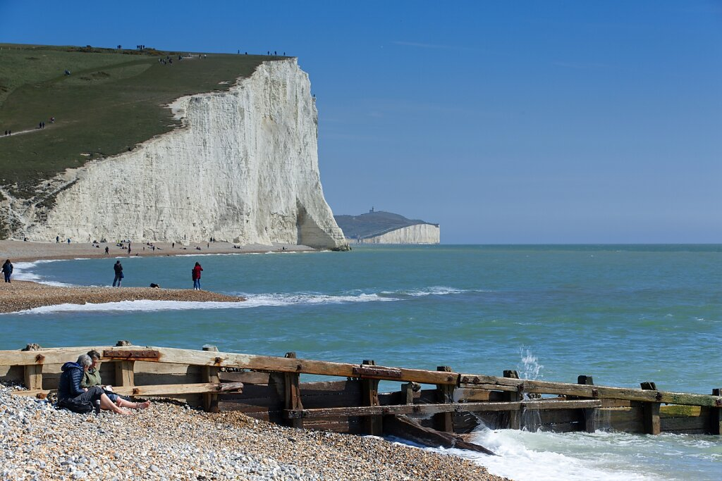 Beach at Seven Sisters