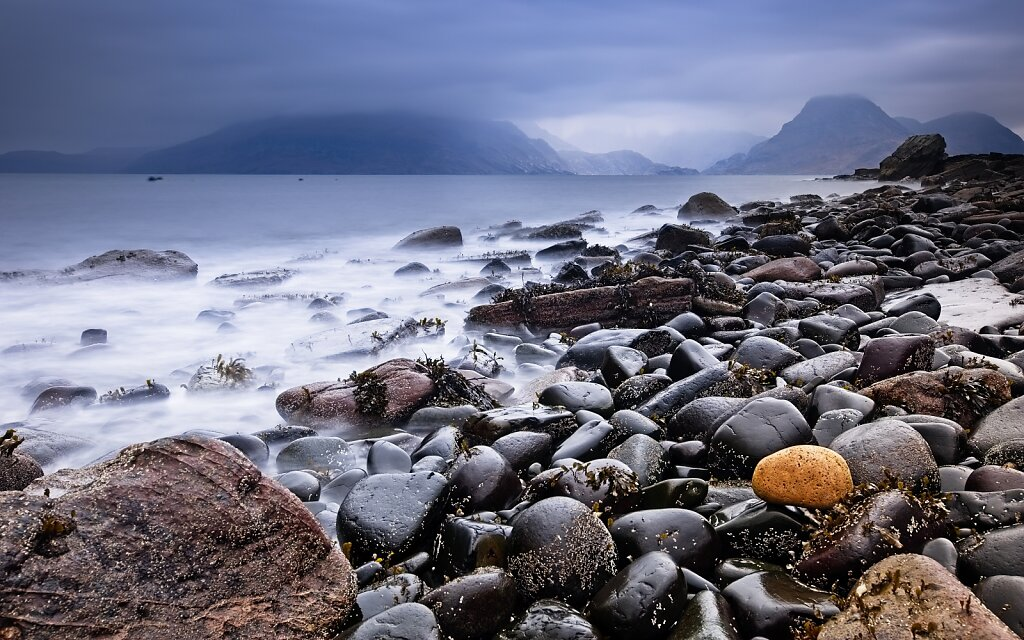 Elgol looking at the Cuillins