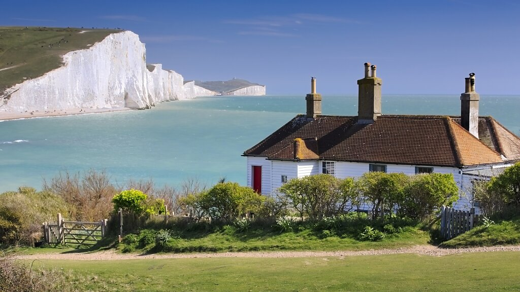 The Coast Guard Cottages at Seven Sisters