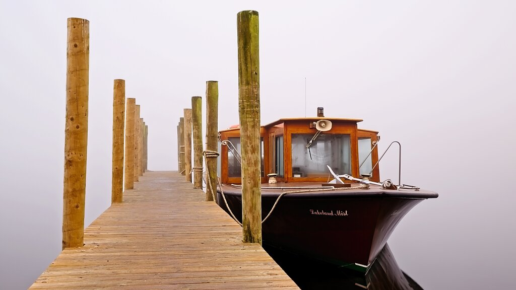 Keswick launch jetty